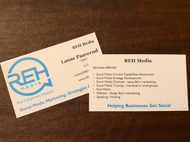 REH Media Business Cards